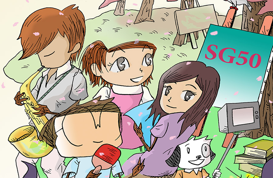 Rediscover Cartoon Drawing & Colouring